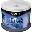 Sony 50-Pack 16x DVD+R Disc Spindle