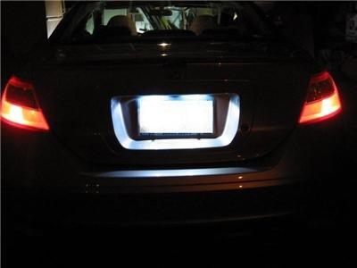 """""""LED"""" LICENSE PLATE KIT! Honda Civic 2008-2009-2010 HID"""