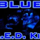 "-COMPLETE- ""BLUE LED"" KIT! Chrysler 300C/300 05-06-2007"