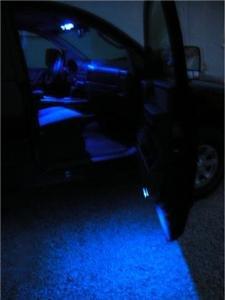 "BLUE LED ""Door/Puddle"" BULB KIT Chrysler 300/300C 05-10"
