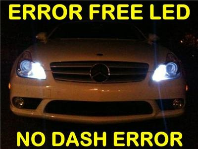 *No-Error* HID-WHITE LED Parking Bulbs! C300/C350/C63