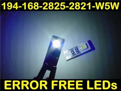 Error-Free WHITE LED BULBS! Mercedes R171 SLK55 AMG 194