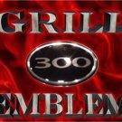 """300"" Chrome grill/wing EMBLEM! Chrysler 300/300C 04-09"