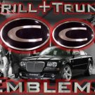 """C"" GRILL+TRUNK WING EMBLEM! Chrysler 300/300C 04-05-09"