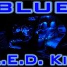 """BLUE Nissan Altima Sedan LED """"interior"""" KIT! 2007-2009+"""