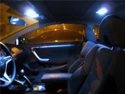 """LED """"interior"""" KIT! Honda Civic 06-09-2010 HID-WHITE"""