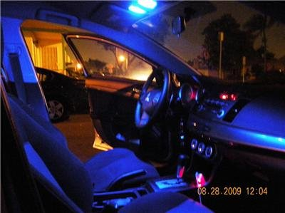 "BLUE Honda Accord LED ""interior"" HID-KIT! 09-2009-2010"