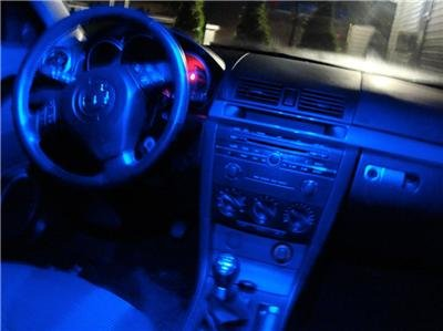 "Mazda 3 BLUE 36-LED ""Interior"" KIT!! 04-05-06-07-08-09"