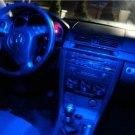 "- BLUE 39-LED ""Interior"" KIT! 2010 Mazda3 MazdaSpeed 3"