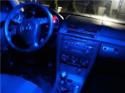 """- BLUE 38-LED """"Interior"""" KIT! 2010 Mazda3 Mazda 3 Sedan"""