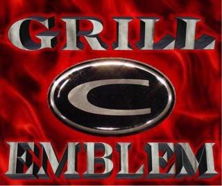 "Chrysler 300/300C HEMI Grill Wing ""C""EMBLEM 05 06 07 08"