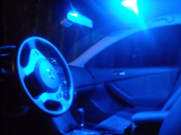 "BLUE Nissan Altima Coupe LED ""interior"" KIT! 2008-2010+"