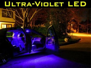 uv black light 33 led bulb kit honda civic 06 2009 2010. Black Bedroom Furniture Sets. Home Design Ideas