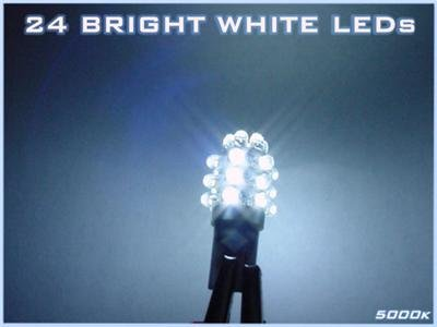 """-48-LED """"Reverse"""" TAIL LIGHT BULBS! Dodge Charger 06-10"""