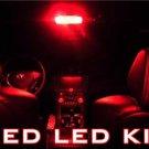 """COCKPIT"" RED 106-LED ""Interior BULB KIT""! Chevy Camaro"