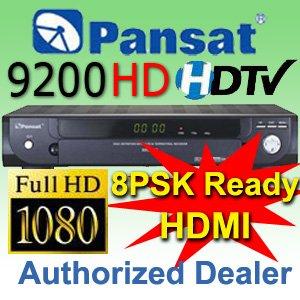 1 UNIT: Pansat 9200 High Definition (PROMO PRICE - Retails $429)