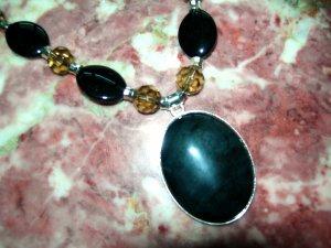 Black Ebony Pendant