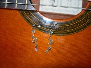 Teble Clef Earrings