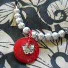 Button Pendant Necklaces