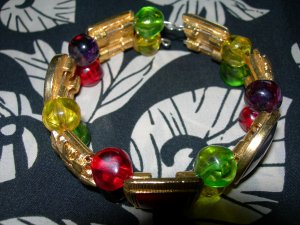 Double Stranded Memory Wire Bracelet