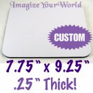Custom MOUSE PAD - Style #1 - YOUR Photo or Design