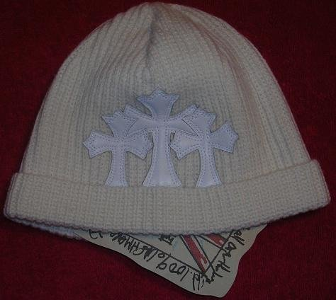 A&G : BF-C8IVY VINTAGE CEMETARY CROSS CASHMERE BEANIE CAP - BRAND NEW WITH TAGS