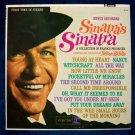 """FRANK SINATRA    """" Sinatra's Sinatra """"  1963 LP"""
