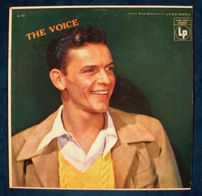 "FRANK SINATRA     "" The Voice ""   1956 LP"