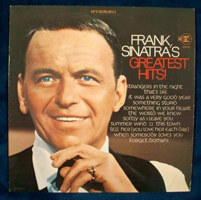 "FRANK SINATRA   "" Frank Sinatra's Greatest Hits ""  1968 Promo LP"