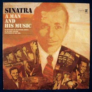 "FRANK SINATRA   "" A Man And HIs Music ""  1965 Double LP"