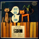 "COUNT BASIE  "" Basie's Back In Town ""  1955 Jazz LP"