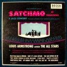 """LOUIS ARMSTRONG  """" Satchmo At Pasadena """"   1960 Jazz LP"""