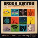 """BROOK BENTON  """" There Goes That Song Again """"  1962 R&B LP"""