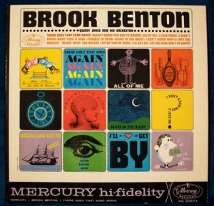 "BROOK BENTON  "" There Goes That Song Again ""  1962 R&B LP"