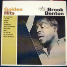 "BROOK BENTON    "" Golden Hits ""    1961 R&B LP"