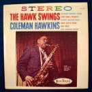"COLEMAN HAWKINS  "" The Hawk Swings ""   1960 Jazz LP"