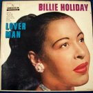 """BILLIE HOLIDAY  """" Lover Man """"   1958 Vintage LP"""