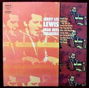 "JERRY LEE LEWIS      "" High Heel Sneakers ""   Rockabilly LP"