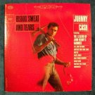 """JOHNNY CASH     """" Blood, Sweat and Tears """"   1963 Country LP"""