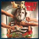 "QUIET RIOT      "" Condition Critical ""     1984 Thrash Metal LP"