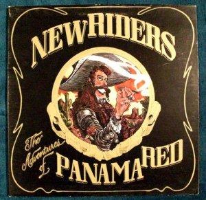 "NEW RIDERS    "" Adventures of Panama Red ""    1973Rock LP"