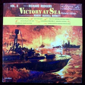 VICTORY AT SEA  Volume 3  /  1961 NBC-TV LP   Pictoral Ed.