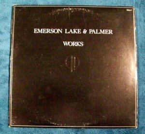 "EMERSON, LAKE & PALMER     "" Works I ""    1977 Prog Rock LP"