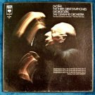 DVORAK ~ THE THREE GREAT SYMPHONIES     3-LP Boxed Set