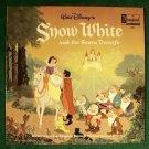 Walt Disney's SNOW WHITE and the SEVEN DWARFS  / Disneyland    1987 LP