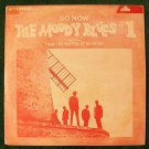THE MOODY BLUES  ~   Go Now / The Moody Blues # 1      Korea Imp.   Rock LP