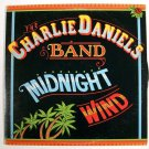 The CHARLIE DANIELS BAND  ~  Midnight Wind      1977 Country Rock LP