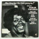 OSCAR PETERSON ~ JOE PASS ~ SARAH VAUGHAN ~ LOUIE BELLSON      1978 Jazz LP
