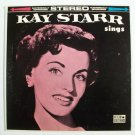 KAY STARR   ~   Kay Starr Sings         1960 Jazz / Vocal LP