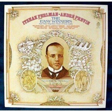 ITZHAK PERLMAN ~ ANDRE PREVIN  *  The Easy Winners / SCOTT JOPLIN     Ragtime LP